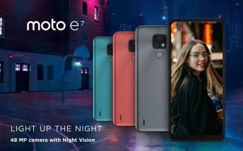 Motorola Moto E7 unveiled with a 48MP camera, Helio G25 chipset