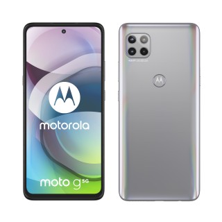 moto g 5g in Frosted Silver and Volcanic Grey