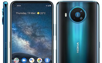 Nokia 8 V 5G UW is likely going to be unveiled for Verizon on November 9