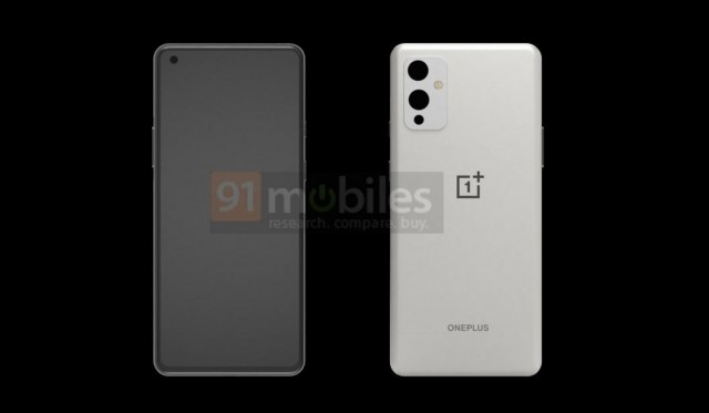 OnePlus 9 kết xuất CAD
