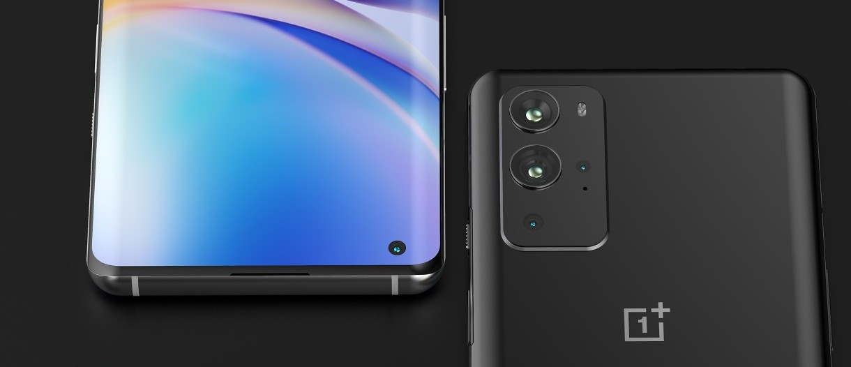 New OnePlus 9 and 9 Pro renders offer a close look at what's coming in  March - GSMArena.com news