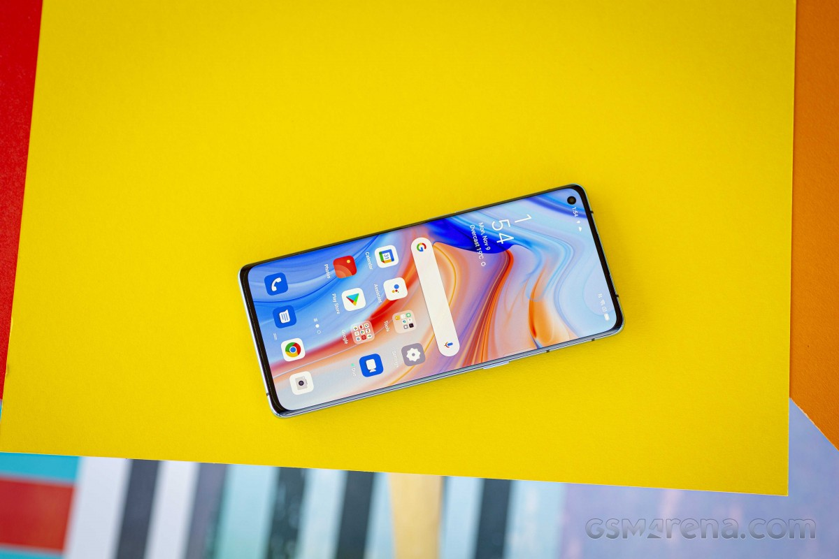 Oppo Reno4 Pro 5G and its 6.55\