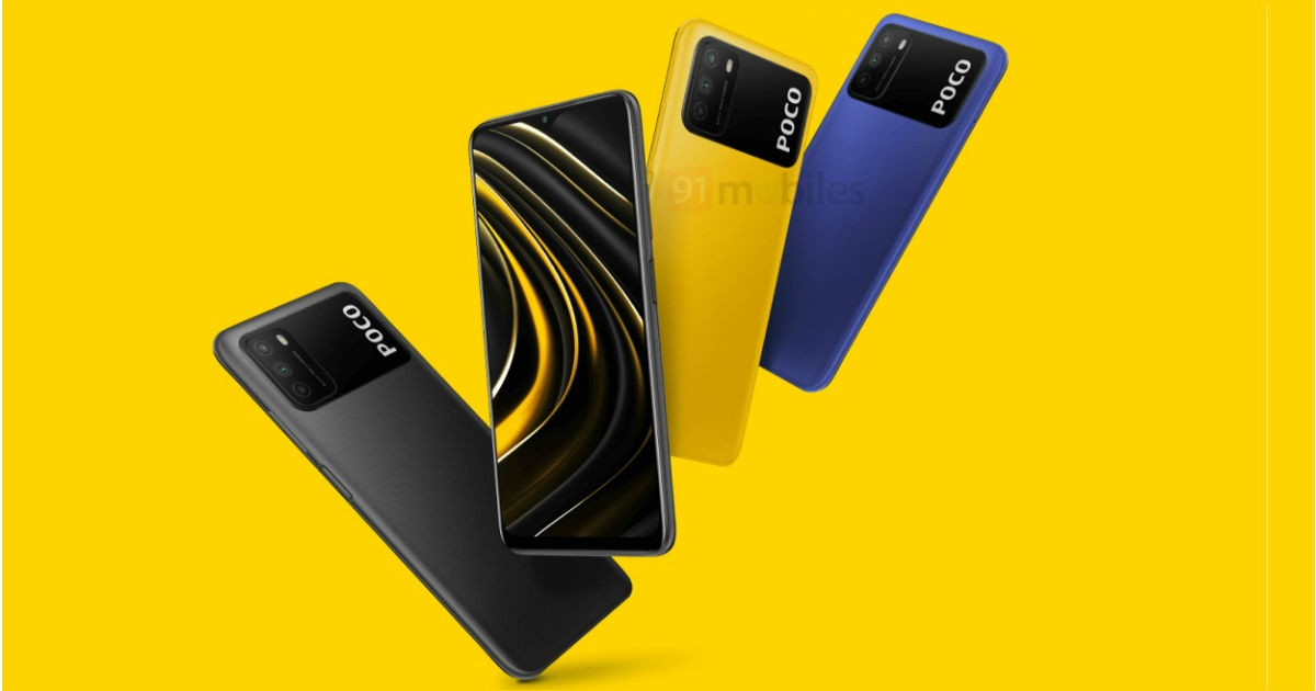 Poco M3 design revealed in leaked images ahead of launch