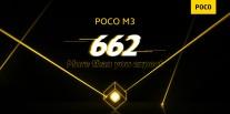 Détails officiels du Poco M3: Snapdragon 662