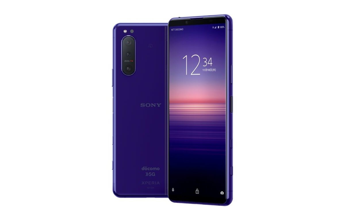 There's a purple Sony Xperia 5 II in Japan