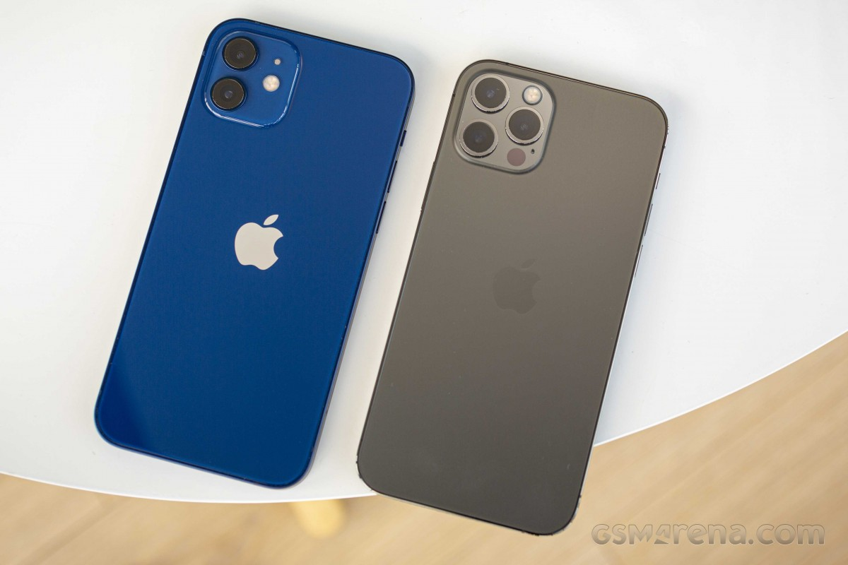 Apple iPhone 12 and Apple iPhone 12 Pro with chipsets, manufactured by Qualcomm