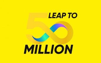 Realme celebrates 50 million users by sending us on a trip down memory lane