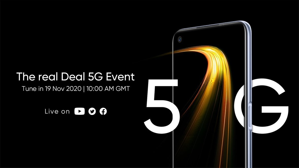 Realme 7 5G is coming on November 19