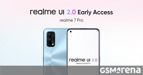 Realme 7 Pro gets Android 11-based Realme UI 2.0 early access update - GSMArena.com news - GSMArena.com