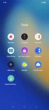 realme UI home screens and folders - Realme Narzo 20 hands-on review