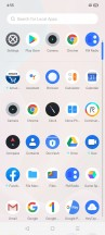 App drawer - Realme Narzo 20A hands-on review
