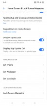 realme UI home screen, navigation and customization options - Realme Narzo 20A hands-on review