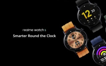 Realme Watch S unveiled: SpO2 monitor, higher resolution screen, and bigger battery