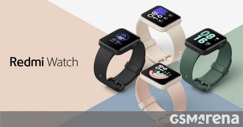 Redmi Watch được công bố với màn hình 1,4 inch, bảng giá hấp dẫn