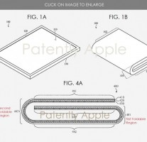Apple's previously filed folding device patents