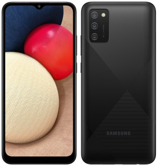 Galaxy A02s in Black color