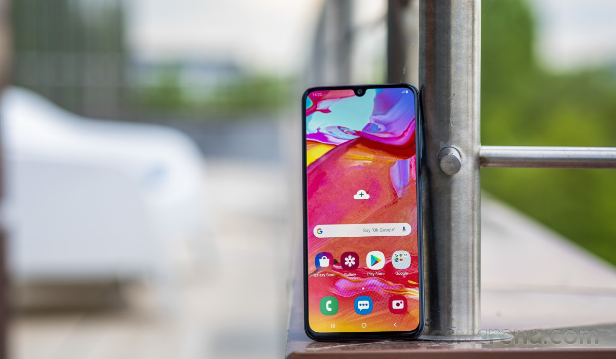 Samsung Galaxy A70 gets One UI 2.5 update