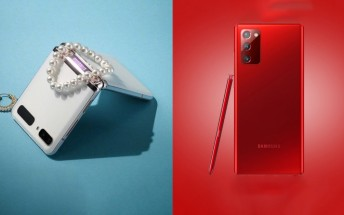 Samsung brings Red Galaxy Note20 and White Z Flip 5G  to the US