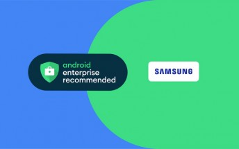 Samsung phones and tablets are now part of the Android Enterprise Recommended Program