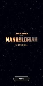The Mandalorian AR Experience app