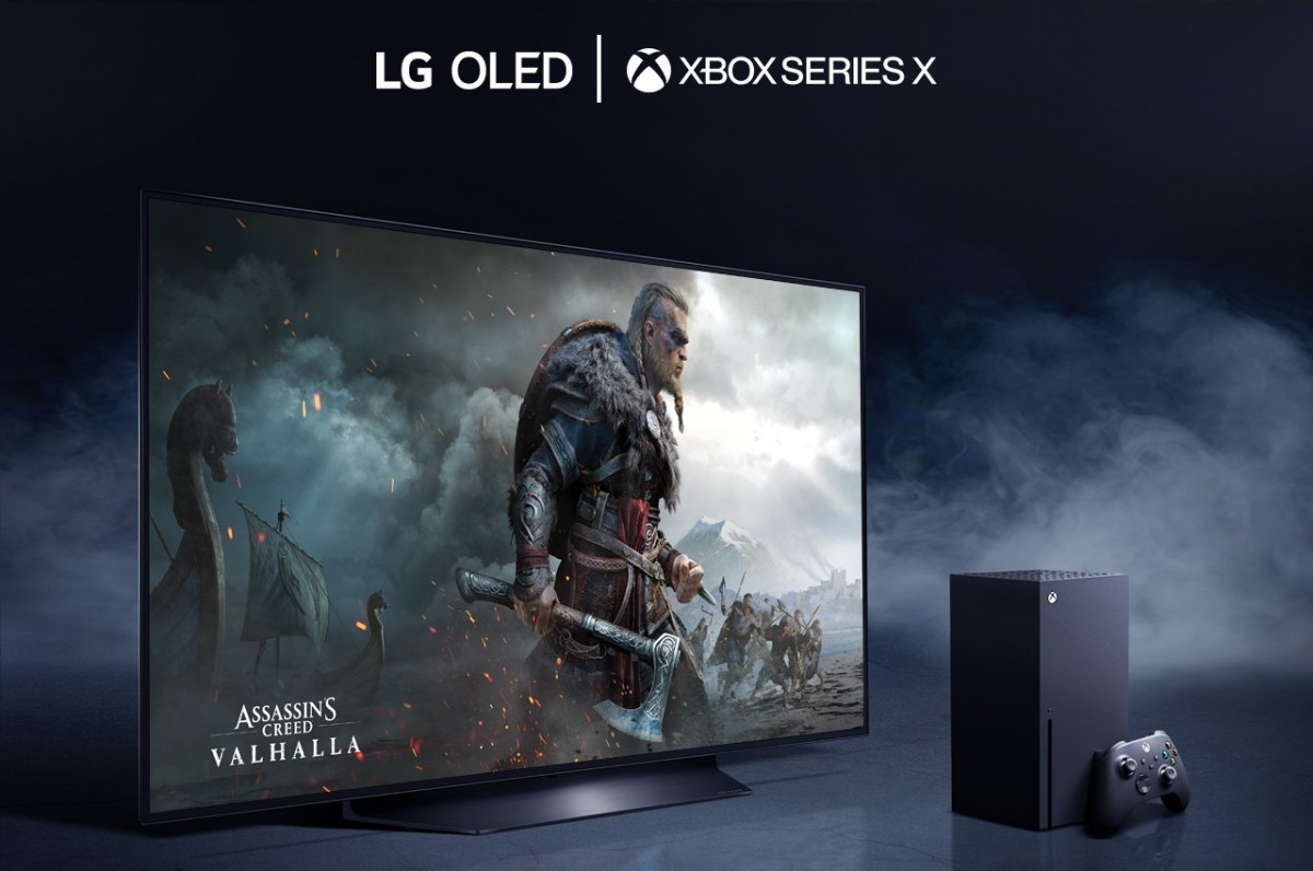 Microsoft picks LG's new OLED TVs as the best way to experience HDR games on the Xbox Series X