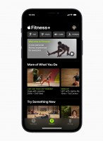 Apple Watch cardio fitness and Fitness+ interface