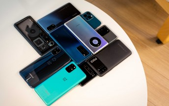 Counterpoint infographic details the smartphone market in Q3