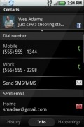 Motoblur's supported every messaging channel and social network you can think of