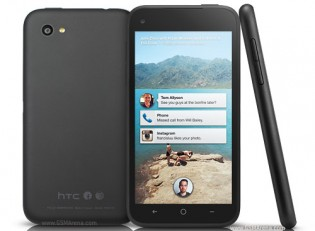 The HTC First was built around the Facebook Home launcher