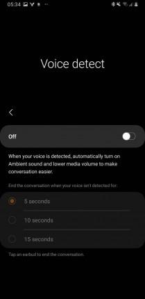 Voice detect