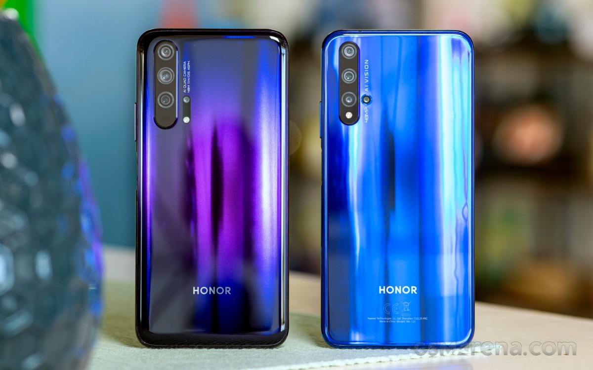 Honor 20 Pro and Honor 20