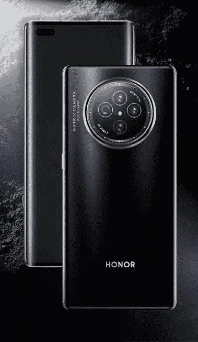 Alleged Honor V40 render