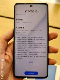 Huawei nova 8 live images