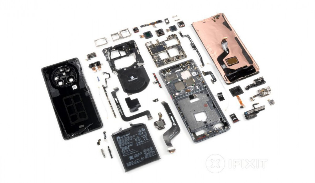 Huawei Mate 40 Pro visits iFixit for teardown, gets mediocre reparability rating