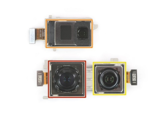 Mate 40 Pro cameras (credit iFixit)