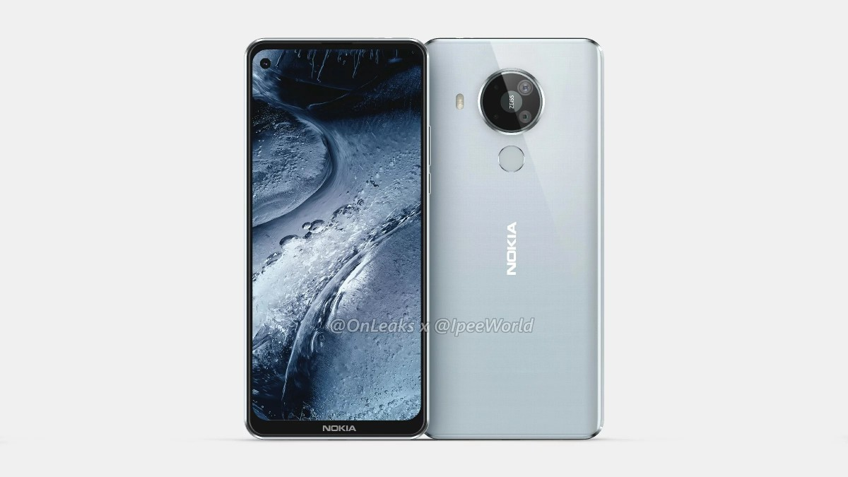 Nokia 7.3 render by @OnLeaks