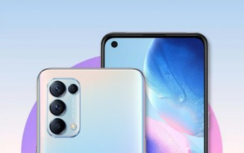 Oppo Reno5 4G announced with S720G chipset, 64 MP main camera and 50W charging