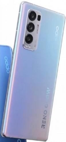 Oppo Reno5 Pro + 5G đi kèm với SD 865, cảm biến Sony IMX7xx 50MP và mặt lưng điện sắc