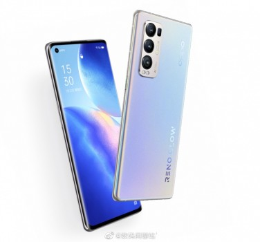 Oppo  Reno5 Pro+ leak and render