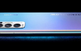Oppo Reno5 Pro+ 5G already listed on JD.com, handled on video