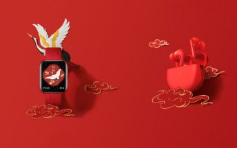 Oppo Enco X and Oppo Watch get special Chinese New Year editions