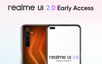 Realme UI 2.0 beta now available for the Realme 6 Pro and Narzo 20 Pro