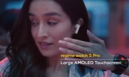 Realme teases Watch S Pro with AMOLED touchscreen, CEO shows its prototypes