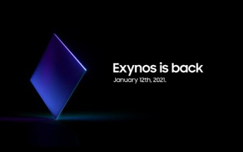 Samsung to announce Exynos 2100 on January 12