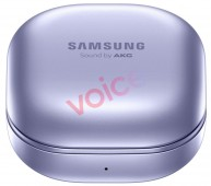 Samsung Galaxy Buds Pro (in violet)