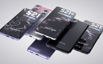 Samsung Galaxy S21 , S21+ and S21 Ultra appear in lovely, high quality renders