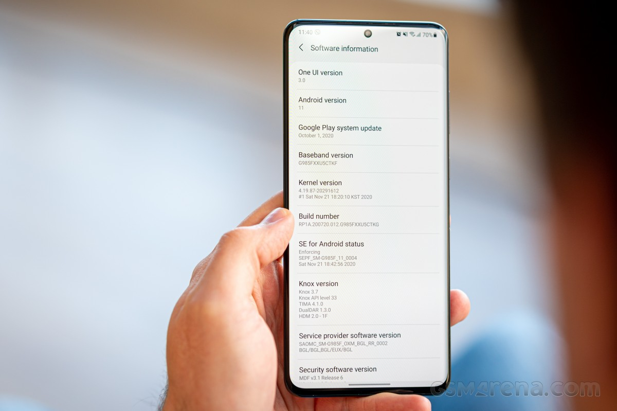 Samsung One UI 3 mini review