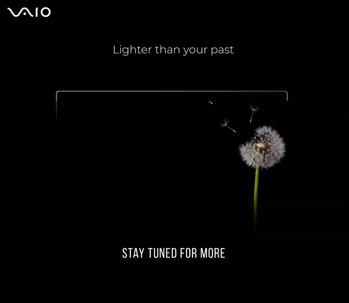 New teaser on Flipkart marks the return of Vaio laptops