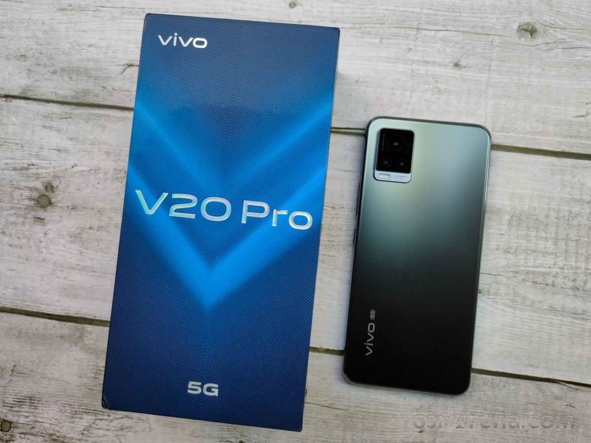 vivo V20 Pro 5G arrives in India