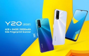 vivo Y20 (2021) goes official with Helio P35 SoC, triple camera, and 5,000 mAh battery